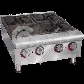 اجاق گاز چهار شعله رومیزی آشپزخانه صنعتی