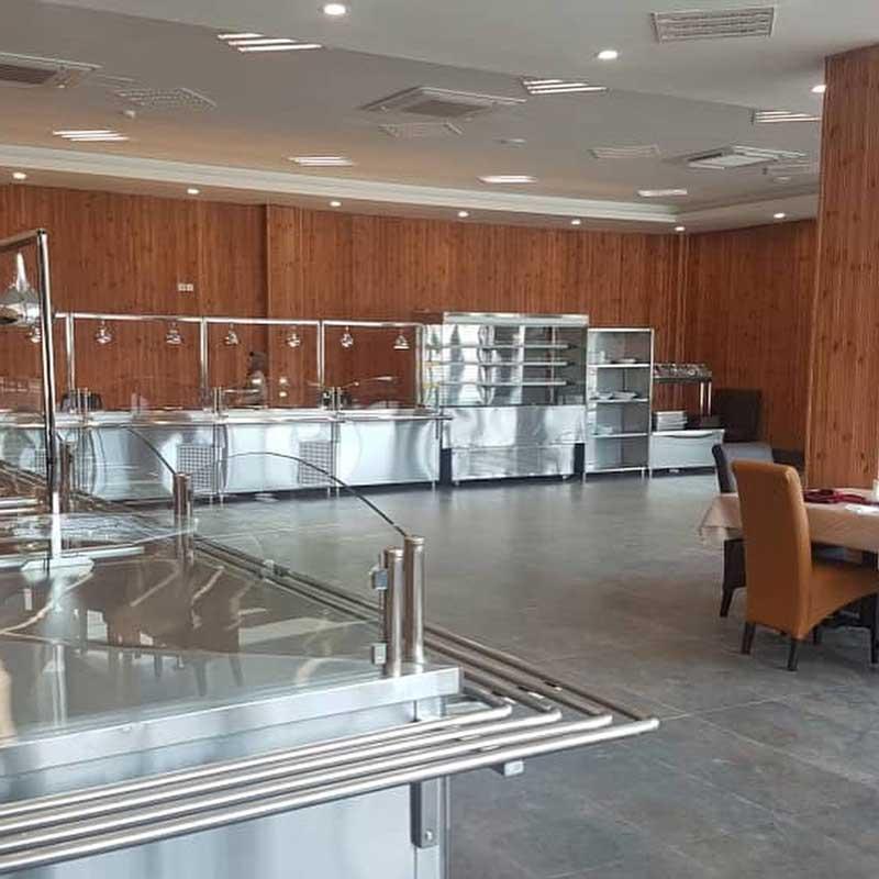 خط کامل سلف سرویس آشپزخانه صنعتی مرسا تجهیز