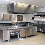 کابینت استیل آشپزخانه صنعتی