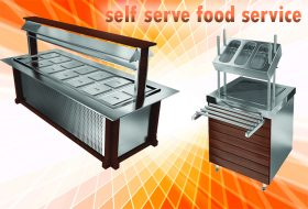 تجهیزات سرو و سلف سرویس آشپزخانه صنعتی