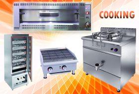 تجهیزات پخت غذا آشپزخانه صنعتی
