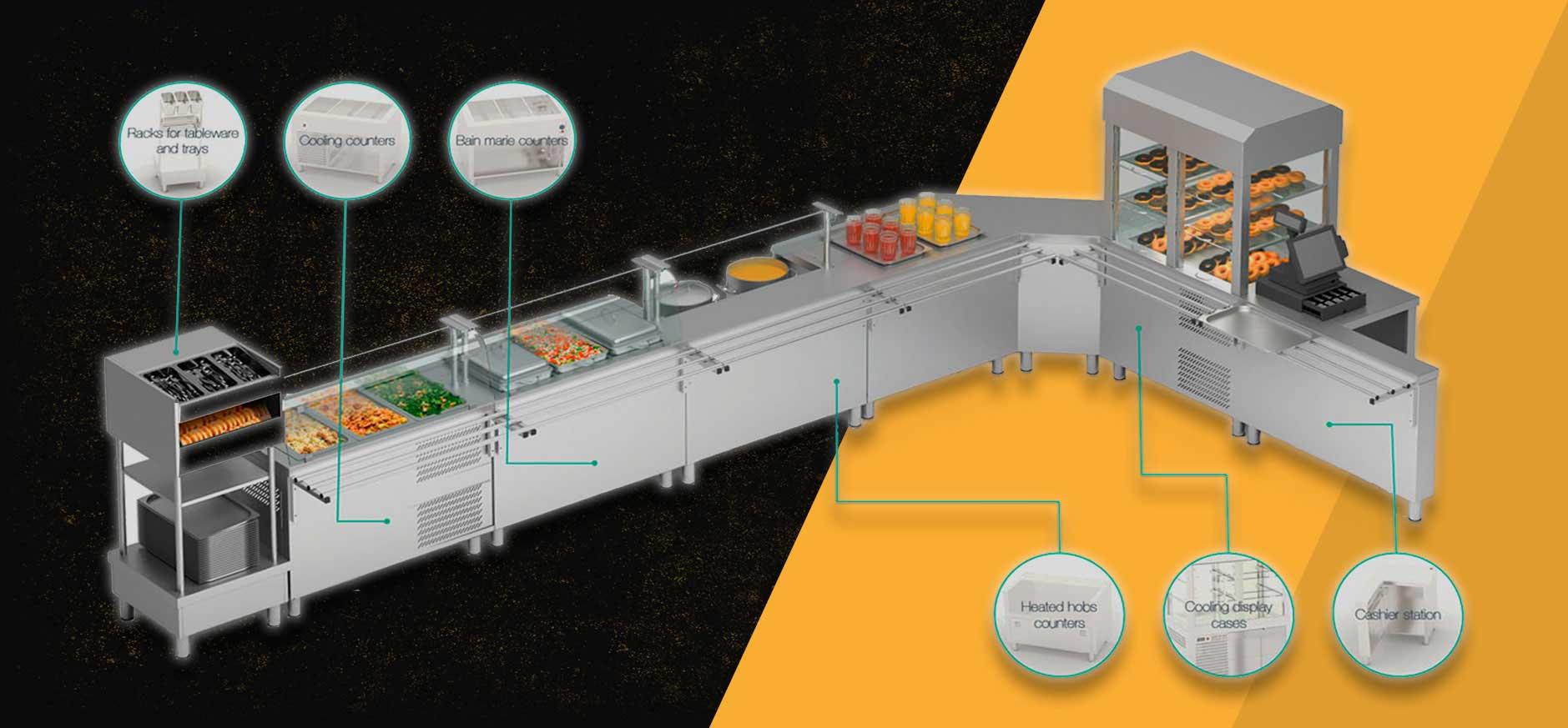 تولید لوازم آشپزخانه صنعتی