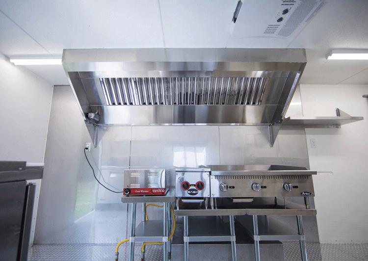طراحی و ساخت سیستم تهویه مطبوع رستوران سیار