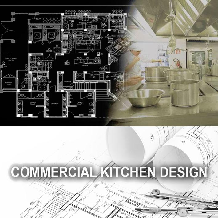 ارائه نقشه چیدمان و جانمایی تجهیزات آشپزخانه صنعتی