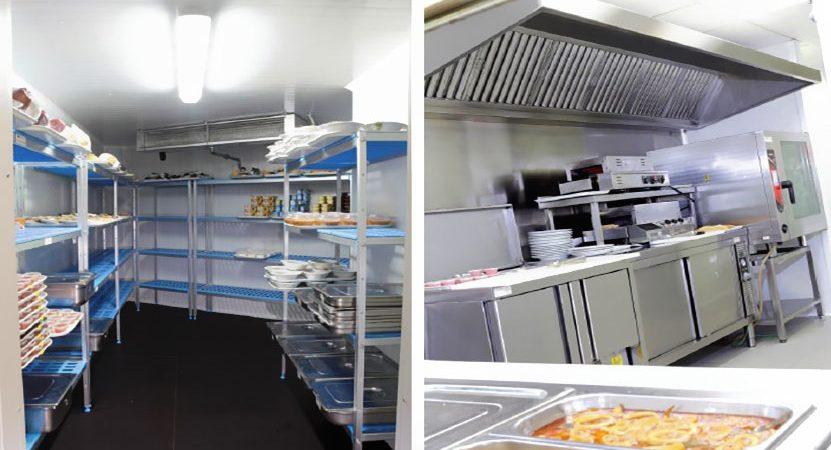 راه اندازی آشپزخانه صنعتی مرسا تجهیز