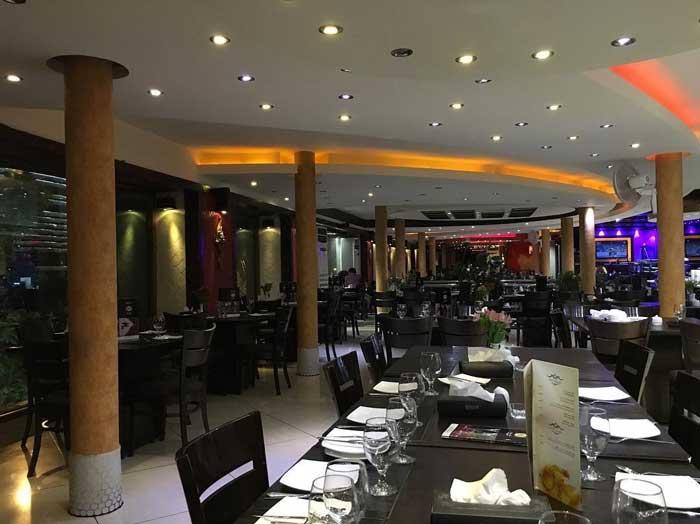 رستوران دیدنیها
