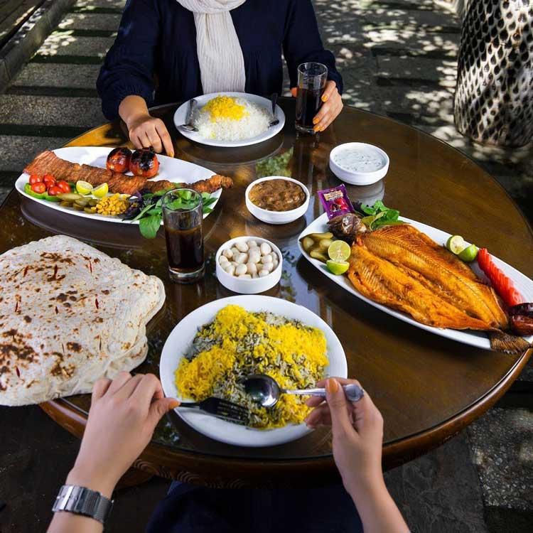غذای ایرانی رستوران ارکیده