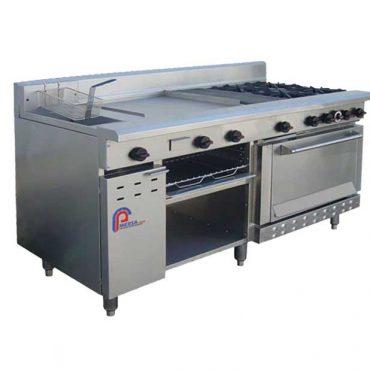 اجاق ترکیبی یا مستر شف آشپزخانه صنعتی