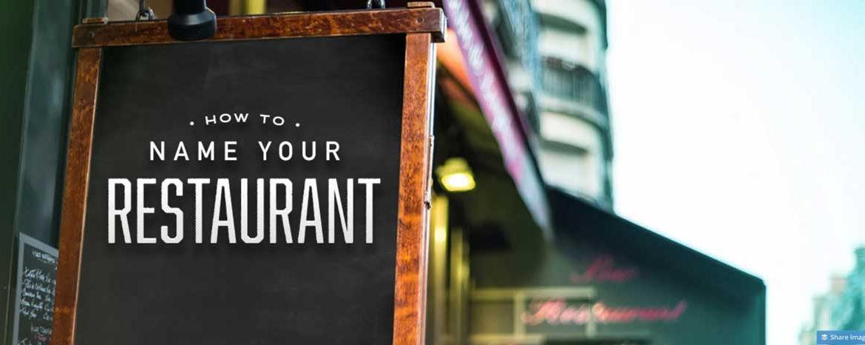 100 نام جالب و جذاب برای رستوران و فست فود